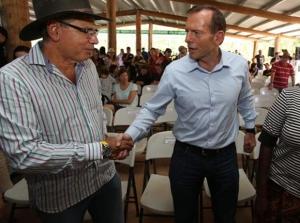 Tony Abbott Brisbane Day 5 Arnhem Land